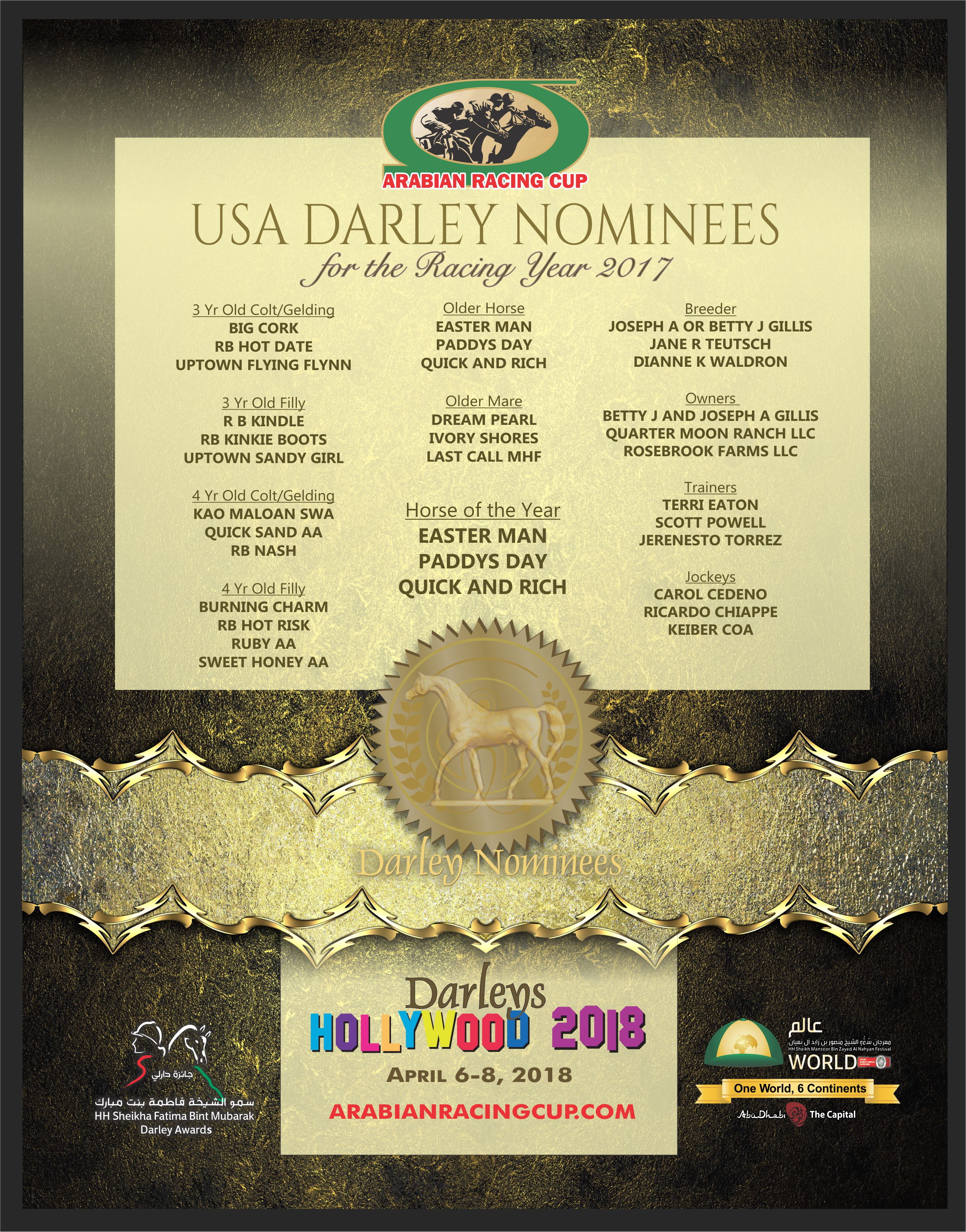 Darley Awards 2018